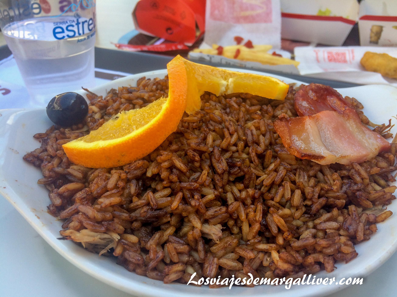 Arroz con pato del restaurante Serra da Estrella - Los viajes de Margalliver